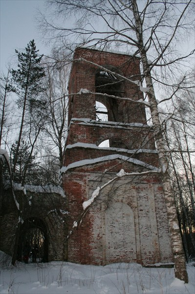 Колокольня Церкви Рождества Богородицы