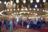 В мечети Мухаммеда Али