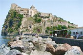 Остров Искья. Крепость Арагонезе