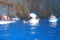 Остров Капри. Голубой грот
