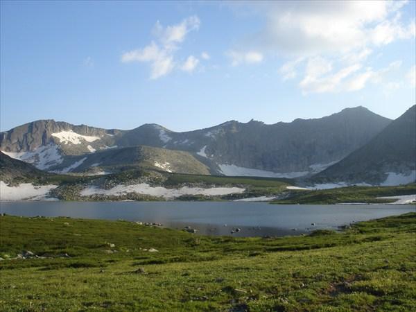 Озеро Белоголосово.