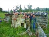 Старая изба пастухов.