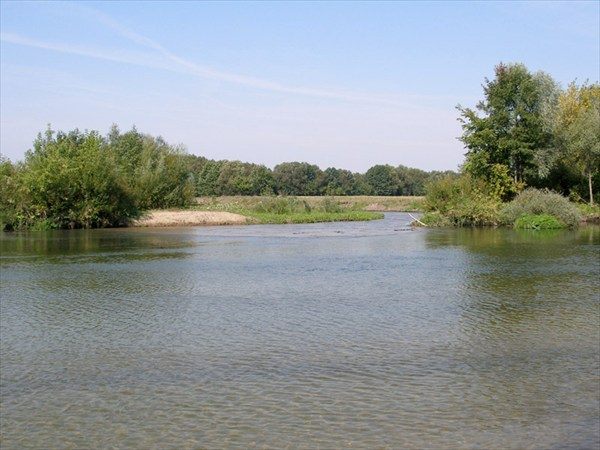 Река Делеховка
