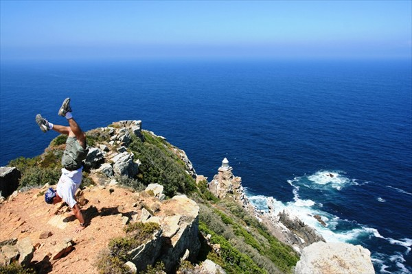 На руках по Африке Cape Point, S.Africa IMG_1023