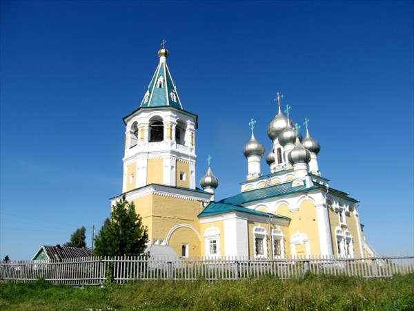 Церковь в Матигорах