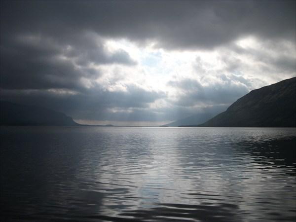 Озеро_ночью