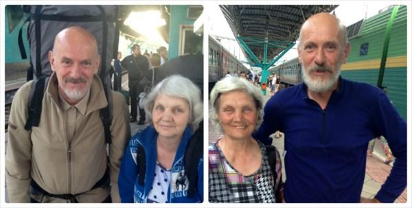 До и ПОСЛЕ похода вокзал Самара