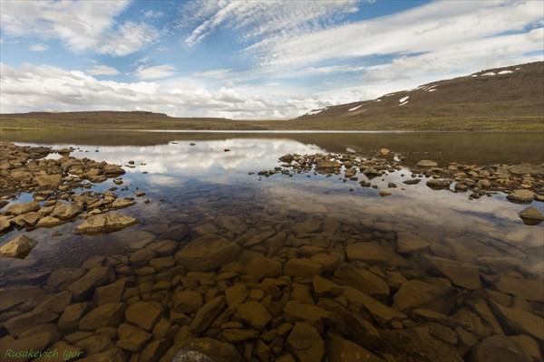 Озёра на плато