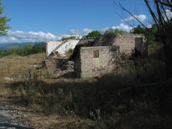 Разрушенные грузинские сёла в Ю.Осетии