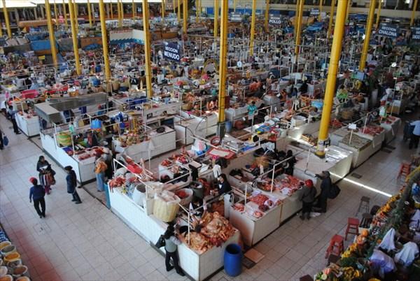 Рынок в Arequipa