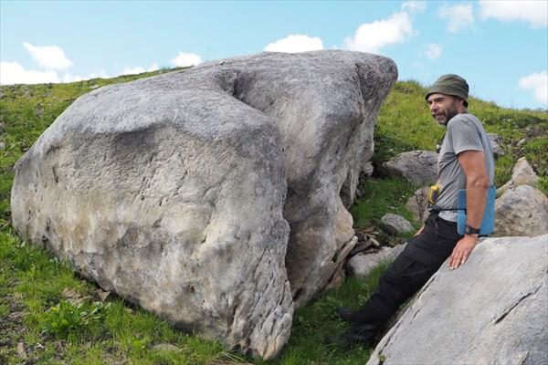 Тёма и каменный эмбриончик гиганта
