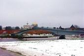 Пешеходный (горбатый )мост, 1985