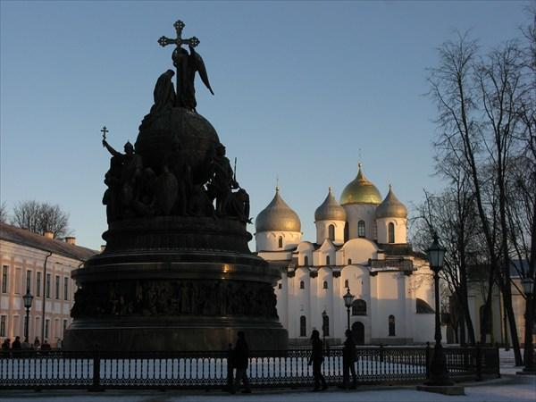 Памятник тысячелетию России, 1862