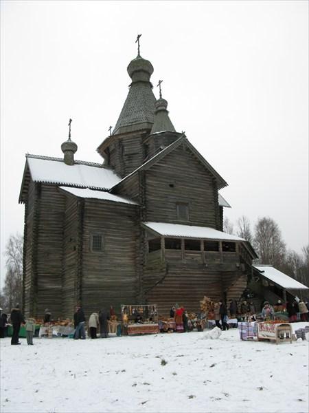 Витославлицы, церковь Рождества Богородицы 1539 года