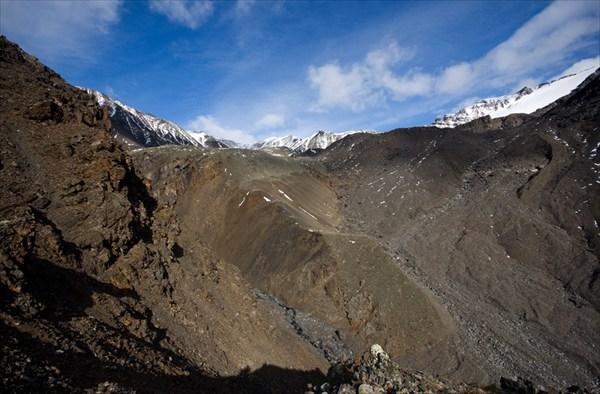 Цирк горы Палатка
