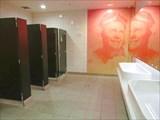Туалет в аэропорту.