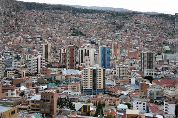 Город очень необычный, его высота варьируется от