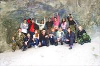 Грот на пути к Новомурадымовской пещере.