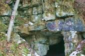 так выглядит вход в каменоломню