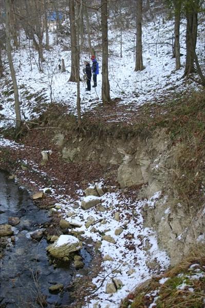 Ручей возле каменоломен