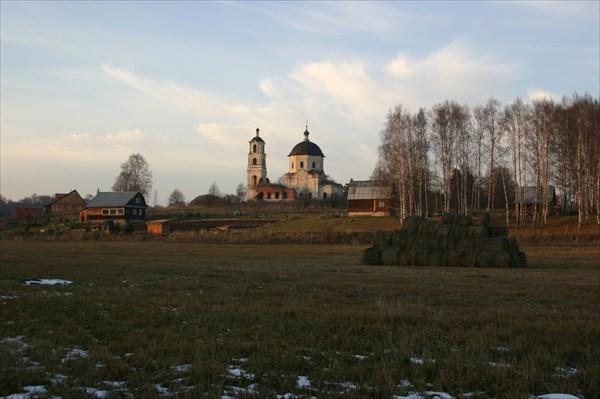 церковь в Холохольне