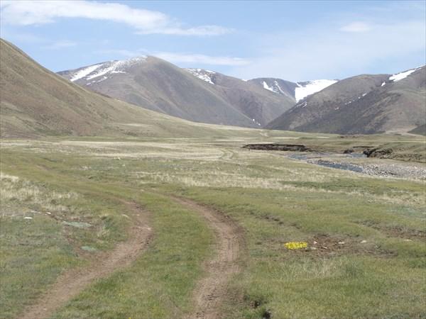 Дорога долины Карагая