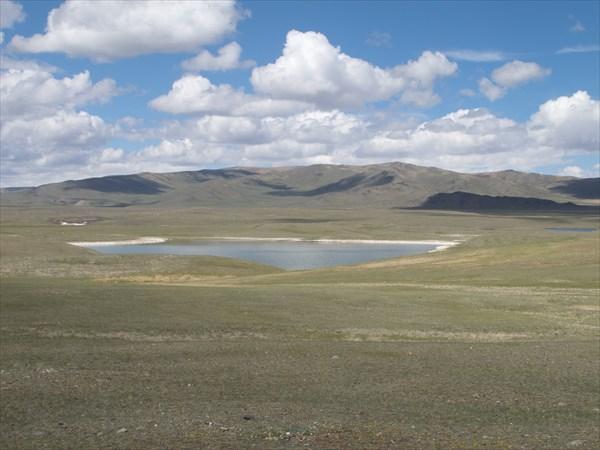 Озера местности Бельдыр-Шоль