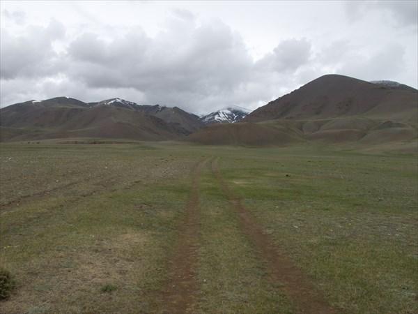 Поворо в сторону перевала Кадыр-Орук