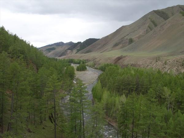 Талайлык в районе устья