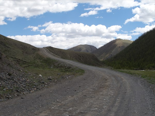 На перевал Арзайты