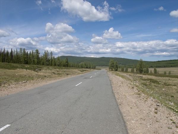 С перевала Хондергей