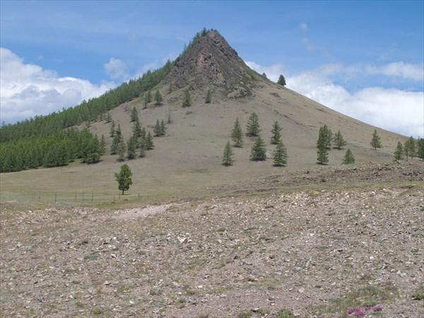 Гора Алдыы-Арыг