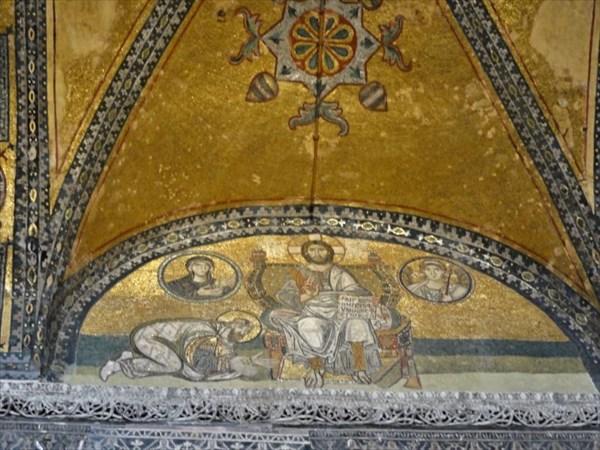 Мозаика 10-11в.