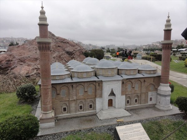 Великая мечеть в Бурсе.