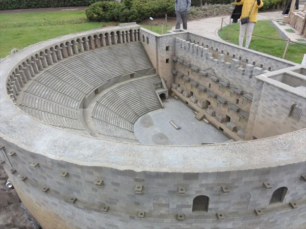 Амфитеатр Аспендос в Анталии.