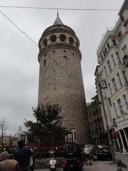 Галатская башня.