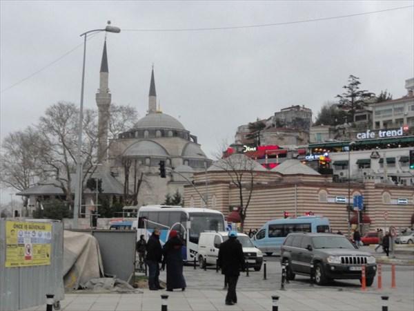 Ускюдар, Азиатская часть Стамбула.