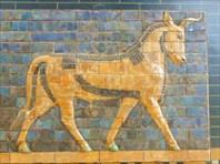 Археологический музей.  Бык Ворот Иштар.