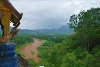 Вид на Луанг Прабанг с холма Пхуси
