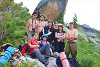 Схемы перевалов Ергаки 2011