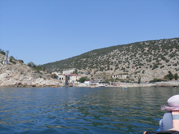 Вход в бухту Балаклава