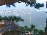 Вид на Ялту с Ай-Петри