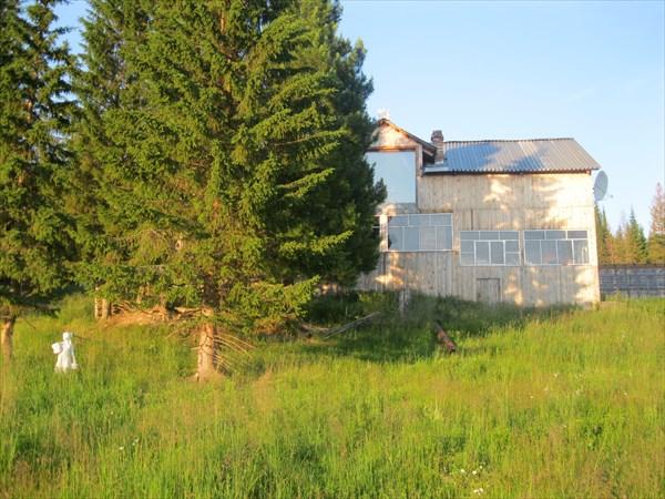 36. Приусадебное хозяйство на месте бывшего поселка