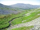 11. Долина ручья с севера