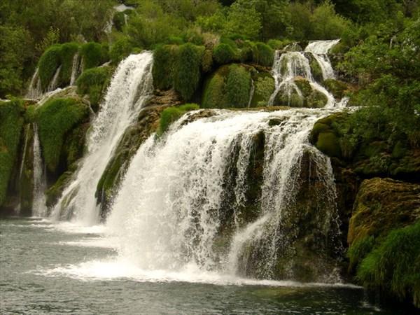 Водопады на реке Крка