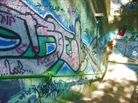 Граффити на стенах – это тоже искусство!