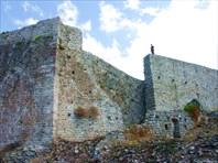 Старый Бар, стены