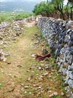 Каменные стены о. Крк