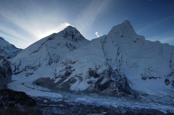 Everest, Nuptse and Khumbu Icefall