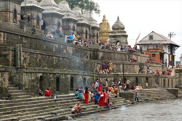 Cremation Ceremony, Bagmati river, Pashupatinath